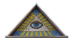 Alle-ziet oog Royalty-vrije Stock Afbeelding
