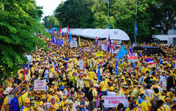 Alleanza della gente per la democrazia Fotografia Stock Libera da Diritti