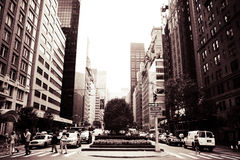Allee New York Lizenzfreies Stockfoto