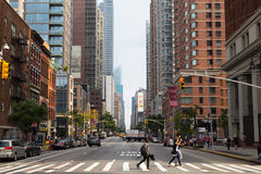 6. Allee - New York City Lizenzfreies Stockfoto