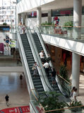 Allee shopping center, Budapest, Hungary. This multifunctional center has a leasable area of 47,000 square meters on 4 levels, and opened in 2009 Royalty Free Stock Image