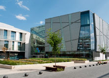 Allee shopping mall, Budapest. Allee shopping mall in the 11th district of Budapest, Hungary Stock Image