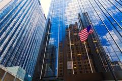 Allee von Amerika 6. Handels Manhattan New York Stockfotografie