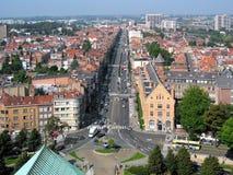 Alleen-Charles-Quinte in Brüssel Lizenzfreies Stockbild