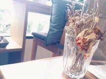 Alleen in de koffie Stock Afbeelding