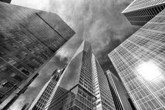 6. Alleen-Gebäude Stockfotografie