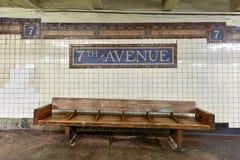 7. Alleen-U-Bahnstation - Brooklyn, New York Lizenzfreies Stockbild