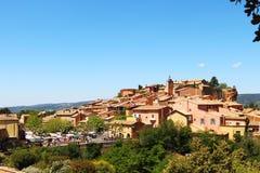 Allegaartjeverkoop in Frans dorp Roussillon Royalty-vrije Stock Foto