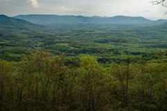 Allegheny-Berge Stockfotografie