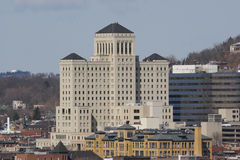 Allegheny General Hospital. On the Pittsburgh North Side Stock Photos
