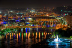 Allegheny River, Pittsburgh Stock Image