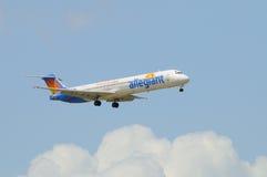 Allegiant Fluglinien DC-9-83 Lizenzfreies Stockfoto