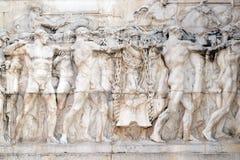 Allegoria di lavoro, della Patria, Roma di Altare, Fotografia Stock Libera da Diritti