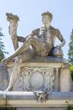 Allegoric kamienna męska statua Fotografia Royalty Free