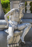 Allegoric kamienna męska statua Obraz Stock