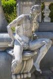 Allegoric stone male statue Stock Image