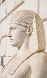 Allegorical skulptur av den egyptiska farao Royaltyfria Foton