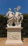 Allegorie-Feuer (XVIII C.).  Belvederegarten, Wien, Österreich Lizenzfreie Stockfotos