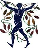 allegorinatur royaltyfri illustrationer