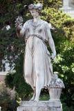 Allegorische Statue des Sommers, Piazza Del Popolo in Rom Lizenzfreie Stockfotografie