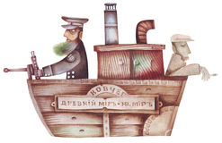 Allegory of a bible ark Stock Image
