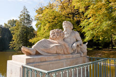 Allegory of the Bug River in Royal Baths Park, Warsaw Royalty Free Stock Photography