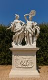 Allegory Fire (XVIII c.).  Belvedere garden, Vienna, Austria Royalty Free Stock Photos