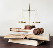 Allegory of  justice Royalty Free Stock Image