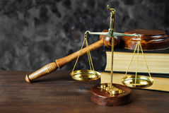 Allegory of  justice Royalty Free Stock Photo