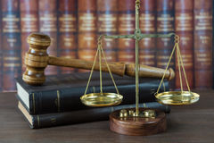 Allegory of  justice Stock Images