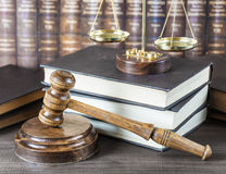 Allegory of  justice Royalty Free Stock Images