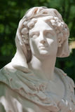 Allegory of the transience life. Allegory of the transience of life. Sculpture Summer Garden. Bust Unknown sculptor. Italy, the beginning of the XVIII century Stock Images