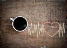 Allegria di energia con caffè Fotografia Stock