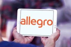 Allegro on-line-Auktionswebsitelogo Stockfotos