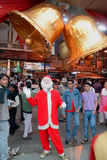Allegro-Natale in Kolkata-India Immagini Stock