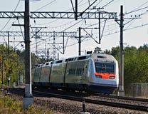 Allegro trein Stock Foto's