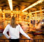 Allegro va il tondo Fotografie Stock