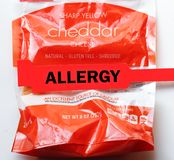 Cheese Allergy Stock Images