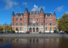 Allehandaborgen i Orebro, Sverige arkivbild