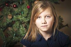 Allein am Weihnachten Stockfotografie