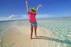 Alleine auf der Insel Lizenzfreies Stockfoto