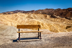 Alleine in Death Valley lizenzfreies stockfoto