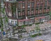 Alleine in der Stadt Lizenzfreie Stockfotos