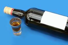 Alleine trinken Lizenzfreie Stockfotografie
