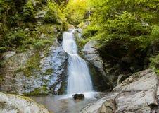 Alleiner grüner Wasserfall Lizenzfreie Stockbilder