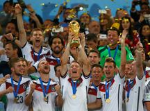 Allemagne Championne du Monde 2014 Stock Image