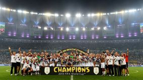 Allemagne Championne du Monde 2014 Royalty Free Stock Photo