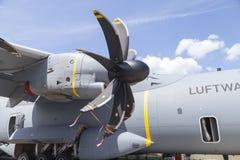 Allemand Airbus A moteur de propulseur de 400 M Image libre de droits