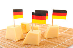 Allemand de fromage Images stock