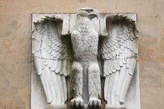 Allemand Eagle sur l'aéroport du Tempelhof à Berlin, Allemagne Photos libres de droits